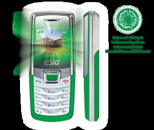 Ponsel Esia Hidayah, dilengkapi Al Qur'an 30 Juz dan terjemahan